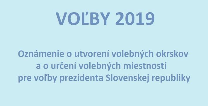 3a230bb92 Mesto Stupava zverejňuje informácie pre voliča - utvorenie volebných  okrskov a určenie volebných miestností pre voľby prezidenta Slovenskej  republiky.